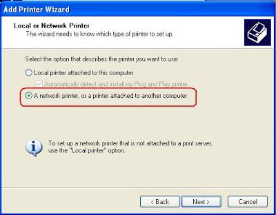 printer sharing in windows 7